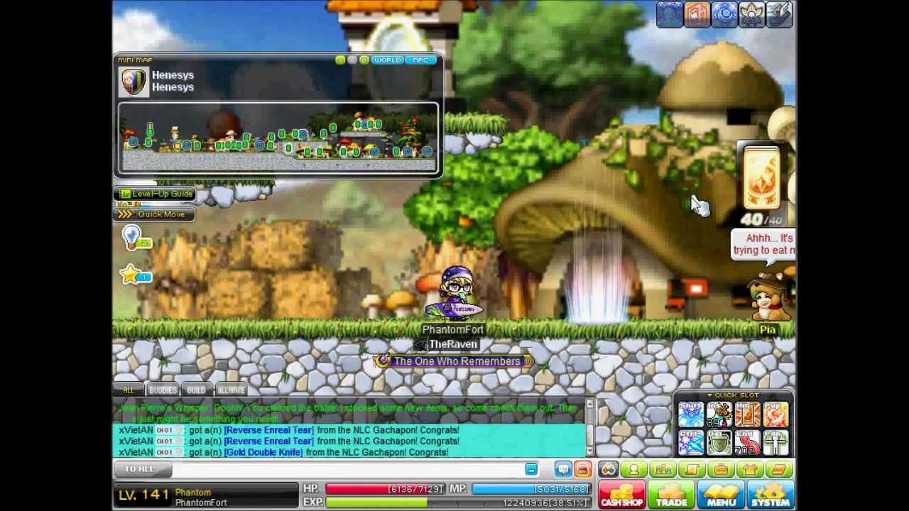 maplestory phantom walkthrough level 120 to 140 youtube rh youtube com MapleStory Wallpaper MapleStory Characters