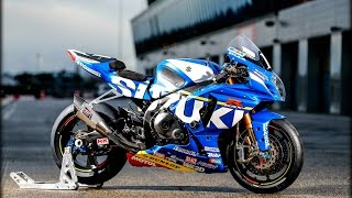 Suzuki GSX-R1000:Exhaust Sound Compilation