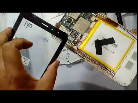 Cara Ganti Touchscreen Advan i7D