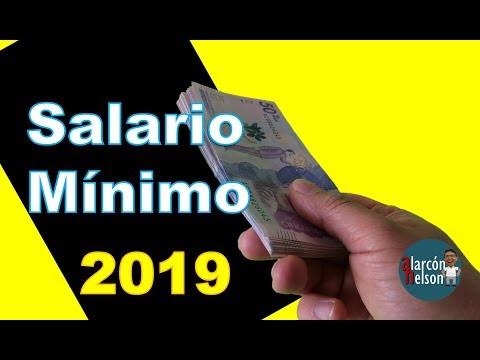 👉 ¿Cómo quedó el Salario Mínimo en Colombia para 2019? 😡 💵 🔻