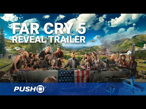 Far Cry 5 PS4 Reveal Trailer | PlayStation 4 | PS4 Pro Gameplay Footage