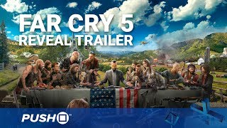 Far Cry 5 PS4 Reveal Trailer   PlayStation 4   PS4 Pro Gameplay Footage