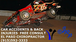 Car Accidents -Back Pain & Back Injury Therapy - El Paso TX Chiropractor