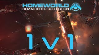 Homeworld Remastered: 1v1 - In the Shadow of the Angel Moon