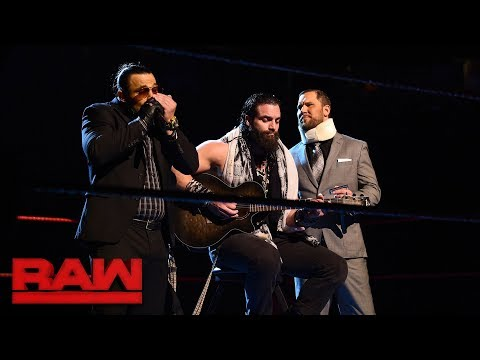 Elias and The Miztourage have the blues: Raw, Nov. 27, 2017