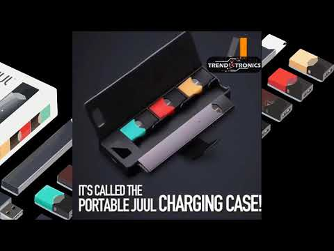The JUUL Charging Case