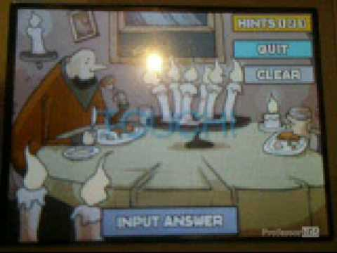 How to Solve Puzzle 015 in Professor Layton and the Curious