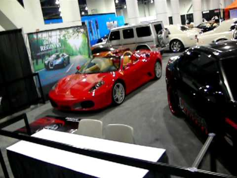 Dupont registry exotic cars motor trend auto show las for Motor trend international auto show las vegas
