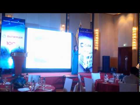 Abby Borja Hosting For DATWYLER Philippines