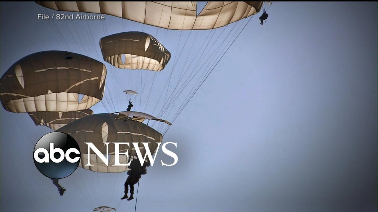 3 generations of paratroopers proudly make history in the sky