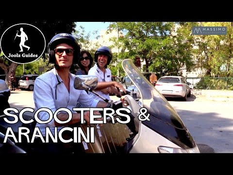 Sicily Vespa Ride and the Best Arancini