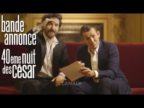c sar 2015 edouard baer et dany boon pr parent la 40 me nuit des c sar bande annonce canal. Black Bedroom Furniture Sets. Home Design Ideas