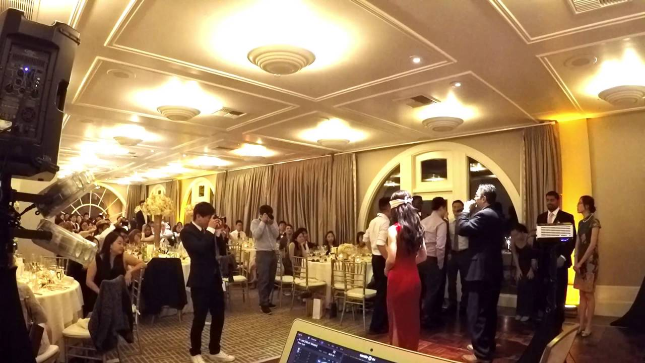 Garden Court Hotel Palo Alto Chinese Wedding DJ Hosting Games