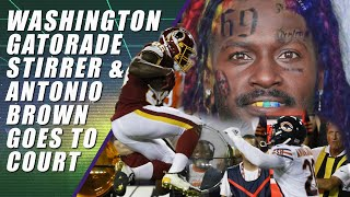 Redskins Tainted Gatorade, Philly Fire & XFL Doesn't Want Antonio Brown