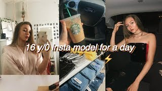 Being An Instagram Model for A Day   workout, food, & photoshoot