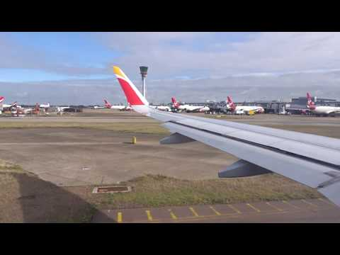 C2727 - Taxiing At Heathrow Airport - BA Flight - LHR To Madrid Lll