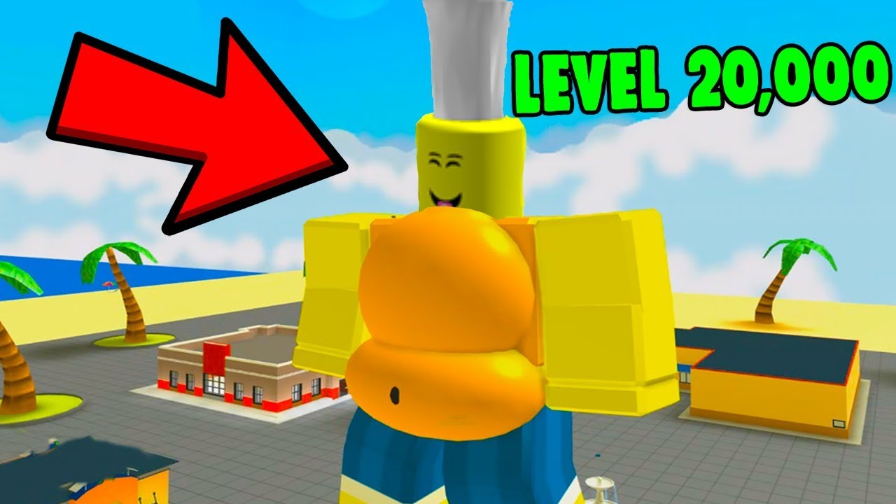 ROBLOX EATING SIMULATOR *FATTEST IN THE GAME* - YouTube