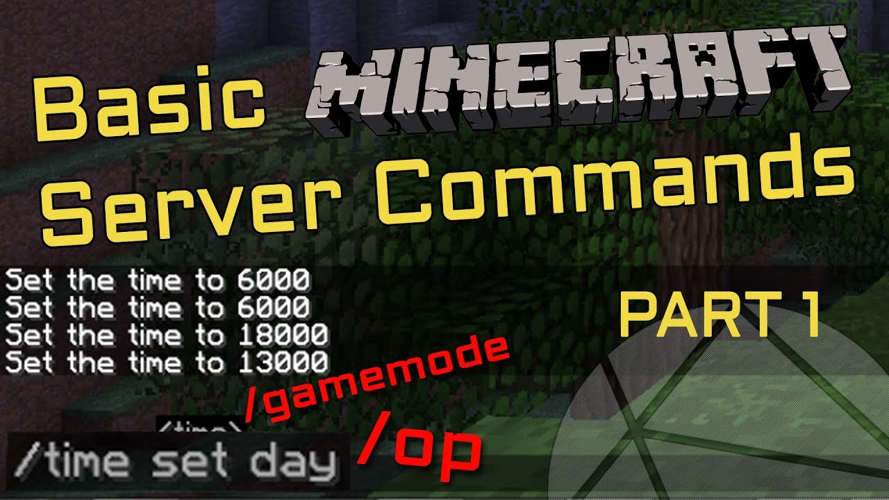 How To Use Commands On Your Minecraft Server (How To OP Yourself) [Part 12]
