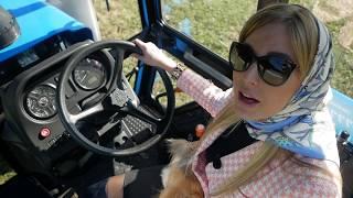 За рулем трактора МТЗ-1221. Непрофессиональный обзор Беларус-1221