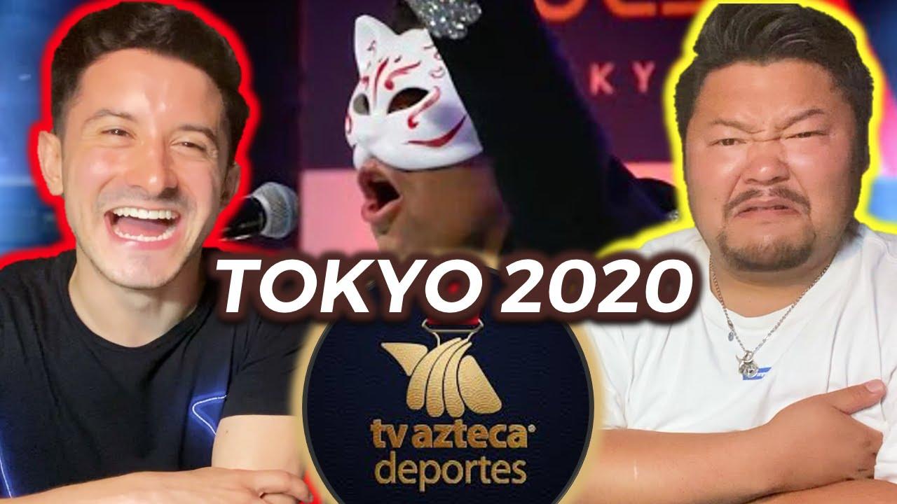 JEFE JAPONÉS REACCIONA A TV AZTECA - TOKYO 2020 HIMNO
