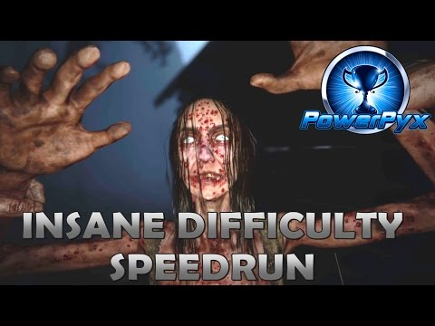 Outlast 2 Insane Difficulty Speedrun (Full Game Walkthrough & Ending) - No Batteries/Barrels/Closets