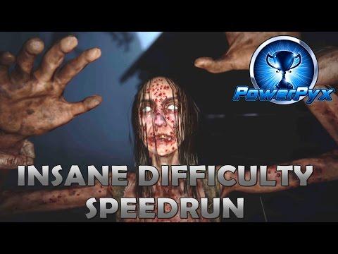 Outlast 2 Insane Difficulty Speedrun (Full Game Walkthrough & Ending) - No Batteries/Barrels/Closets