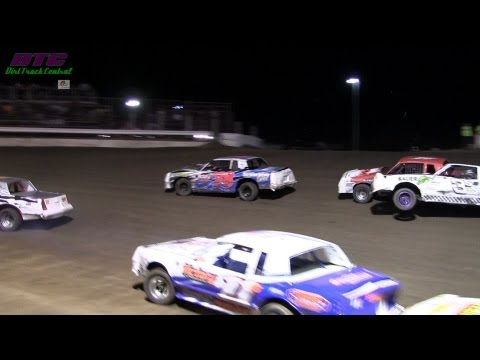 IMCA Stock Car A Feature Stuart Speedway 9 1 13