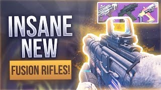 "Destiny INSANE NEW FUSION RIFLES ""Saladin's Vigil"" - THE BEST ""OVERPOWERED"" FUSION RIFLES"