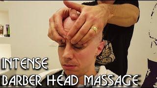 💈 Italian Barber - Intense Head Massage - ASMR no talking