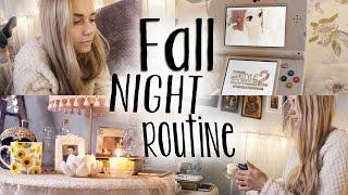 Fall Night / Evening Routine ☽ | Roxxsaurus