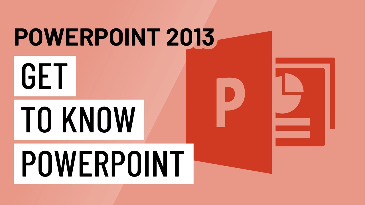 Powerpoint 2013 Getting To Know Powerpoint Youtube