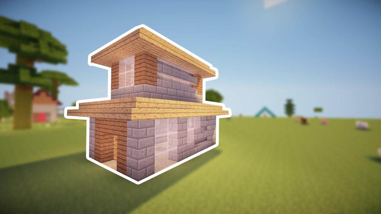 маленькие дома в майнкрафте фото