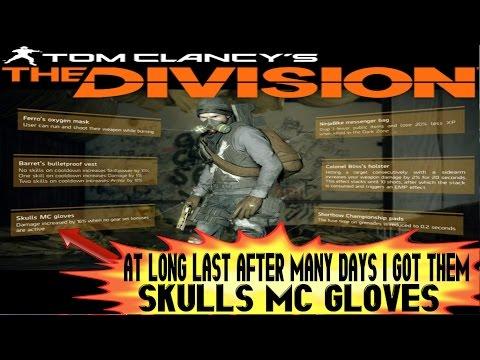 Blahfubar's Plays.tv Clip,The Division,FUMES Skulls MC Gloves.At long last.