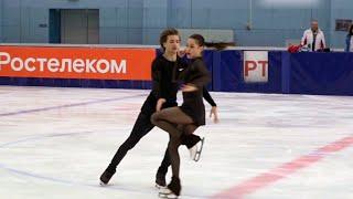 Елизавета Шанаева Дэвид Нарижный Произвольный танец Контрольные прокаты по фигурному катанию