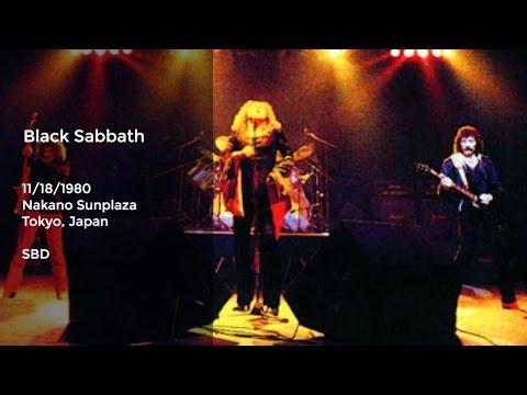 Black Sabbath Live at Nakano Sunplaza, Tokyo, Japan - 11/18/1980 Full Show SBD