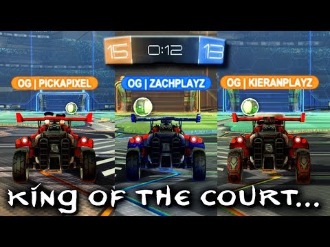 Rocket League 'KING OF THE COURT' To Decide The Captain of OG