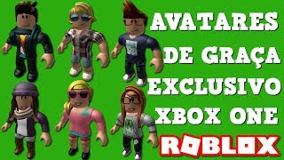WE CATCH ALL ROBLOX AVATARS FOR FREE (XBOX ONE EXCLUSIVE)