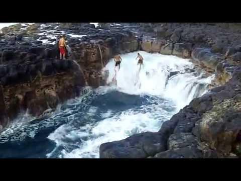'Pool Of Death' - Queen's Bath Kauai, Hawaii