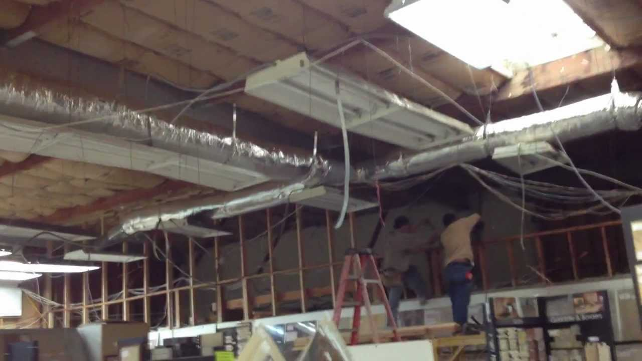 COMMERCIAL A/C DUCT & ELECTRICAL INSTALLATION