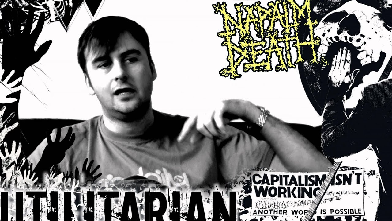 NAPALM DEATH — Utilitarian (Barney describes the album concept)