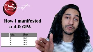 How I manifested a 4.0 GPA: 2 techniques that helped me get a 4.0 (Law of Attraction)