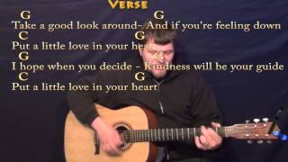 Put A Little Love In Your Heart - Strum Guitar Cover Lesson in G with Chords/Lyrics