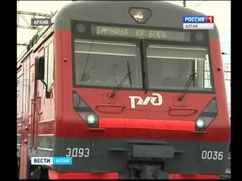 Скорый поезд Барнаул-Новосибирск будет курсировать ежедневно