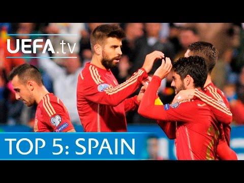 Top 5 Spain EURO 2016 qualifying goals: Silva, Isco & more