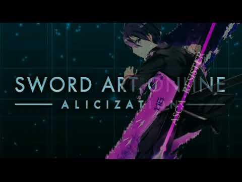 ◤Nightcore◢ ↬ ASCA RESISTER - [OP2_SWORD ART ONLINE ALICIZATION] - Lyric