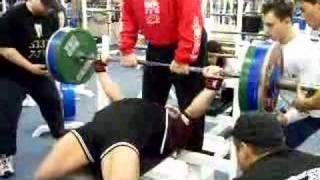 Andrey Butenko Bench Press 7 Nov 2004 - 300,5 kg