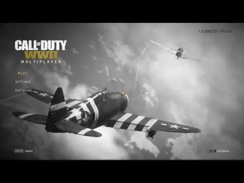 how to play 2 player on call of duty ww2