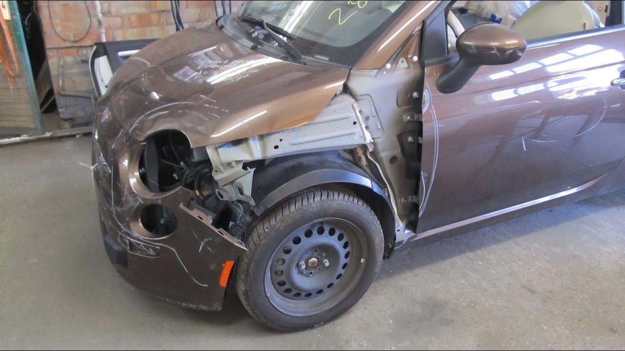 Fiat 500. The minor repair. Небольшой ремонт.