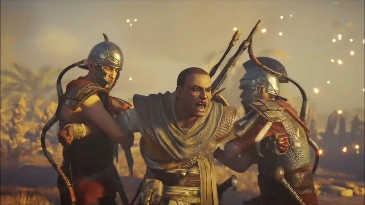 Assassin S Creed Origins Tributo Bayek De Siwa Youtube