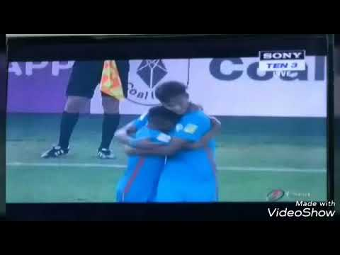 India u17 Goal against Colombia